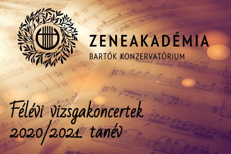 Bartók Konzi - Félévi Vizsgakoncertek - 1. nap