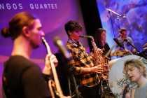 Blue Flamingos Quartet feat Parragi Rebeka