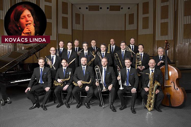 Budapest Jazz Orchestra: Kovács Linda 'Sunflower' Lemezbemutató