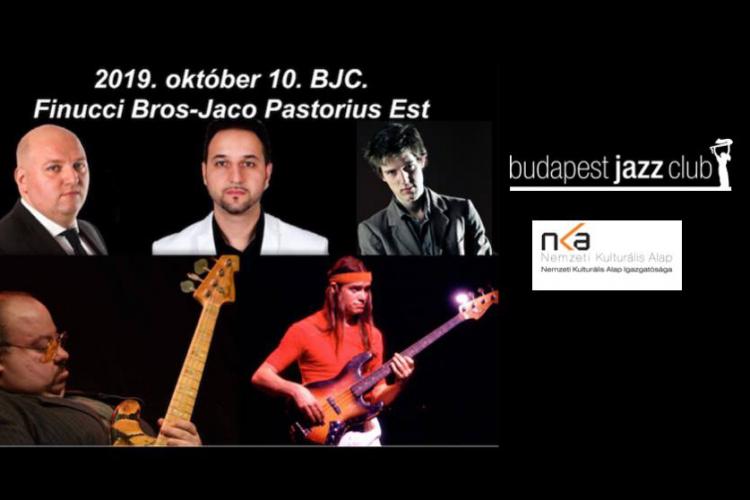 FINUCCI BROS QUARTET - JACO PASTORIUS EST
