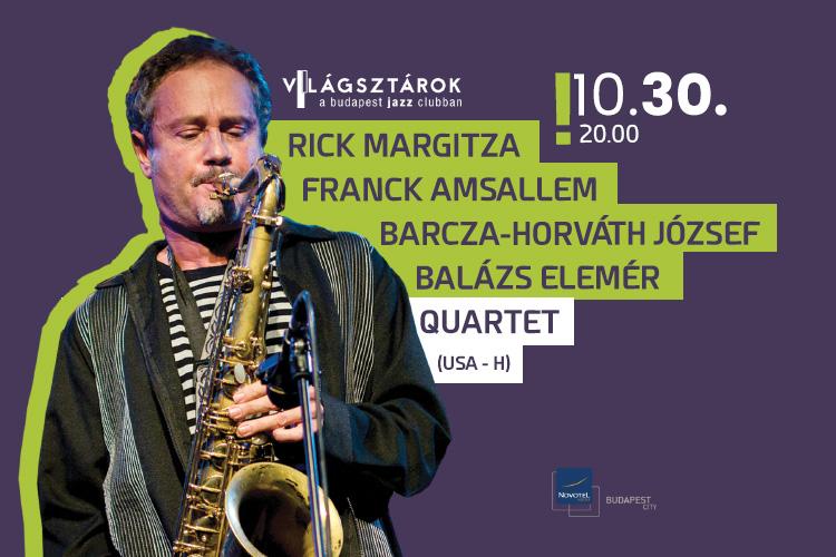Rick Margitza - Franck Amsallem - Barcza-Horváth József - Balázs Elemér Quartet