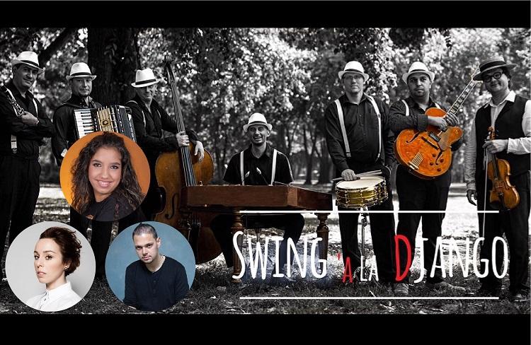 Swing á la Django feat. Kozma Orsi, Csík Laci és Toldi Viki - Lemezbemutató koncert