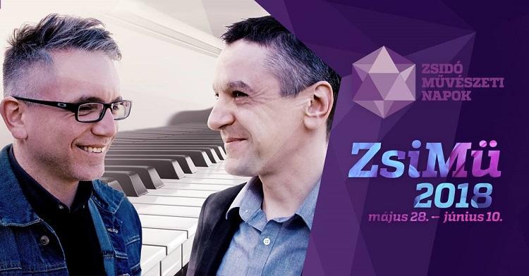 Zsidó Mûvészeti Napok: Duett - Sárik Péter és Gátos Iván estje