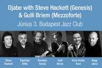 Djabe with Steve Hackett (Genesis) & Gulli Briem (Mezzoforte)