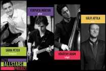 Jazz AllStars Project - Házigazda: Sárik Péter (Sárik Péter, Fenyvesi Márton, Bögöthy Ádám, Gálfi Attila)